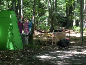 Safari Camp Kitchen at Sleeper State Park