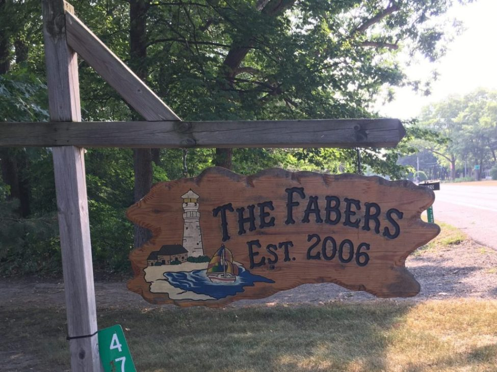 The Fabers Roadsign