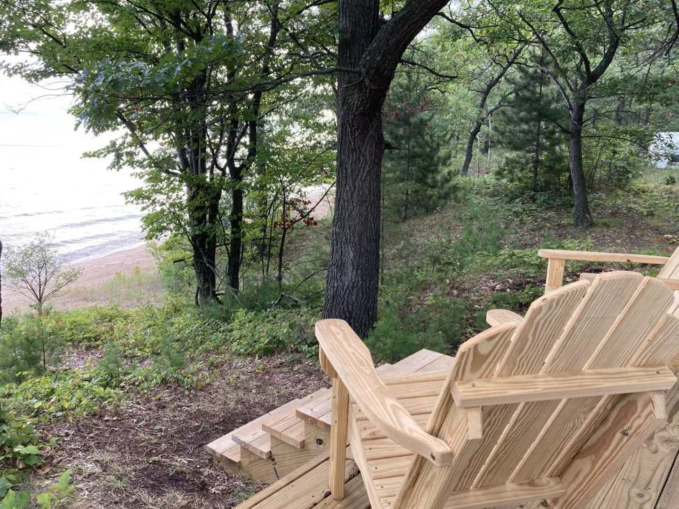 Glamping Beach Camp Site at Sleeper State Park