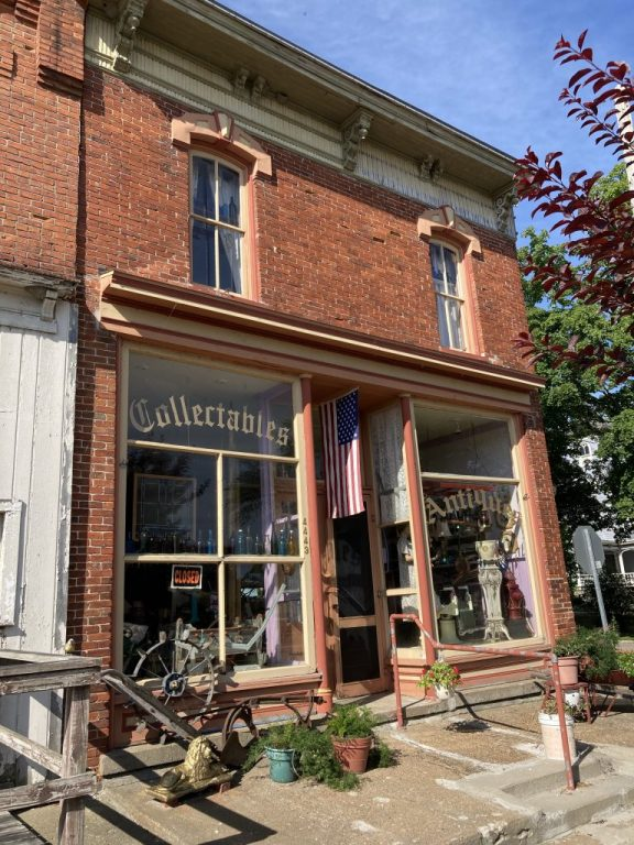 Schlichting Building - Port Hope Michigan