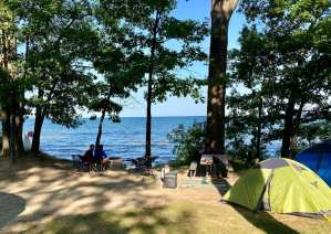 Beachside Camping At Port Crescent State Park