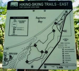 Port Crescent State Park Hiking Trails
