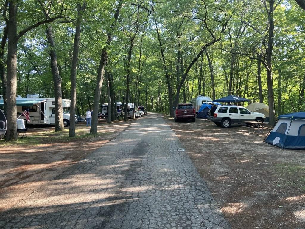 Port Crescent State Park Campground - Camper Rental