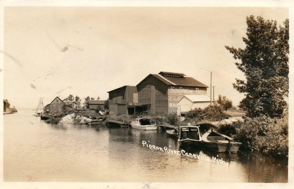 Caseville Harbor 1943