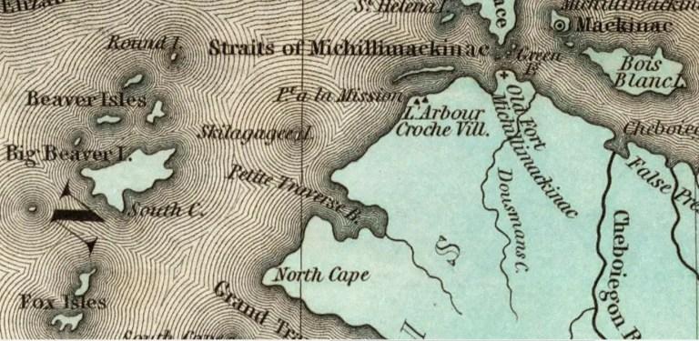 Straits of Mackinac - Frederic Baraga