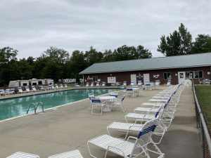 Duggan's Family Campground Pool Area - Camping Caseville Mi