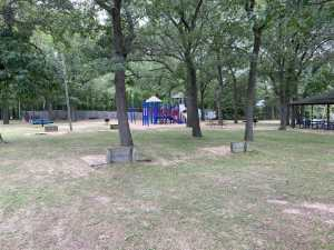 Oak Beach County Park Playground and Pavilion - Camping Near Caseville mi