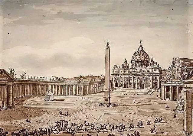 St. Peters Basilica c1830