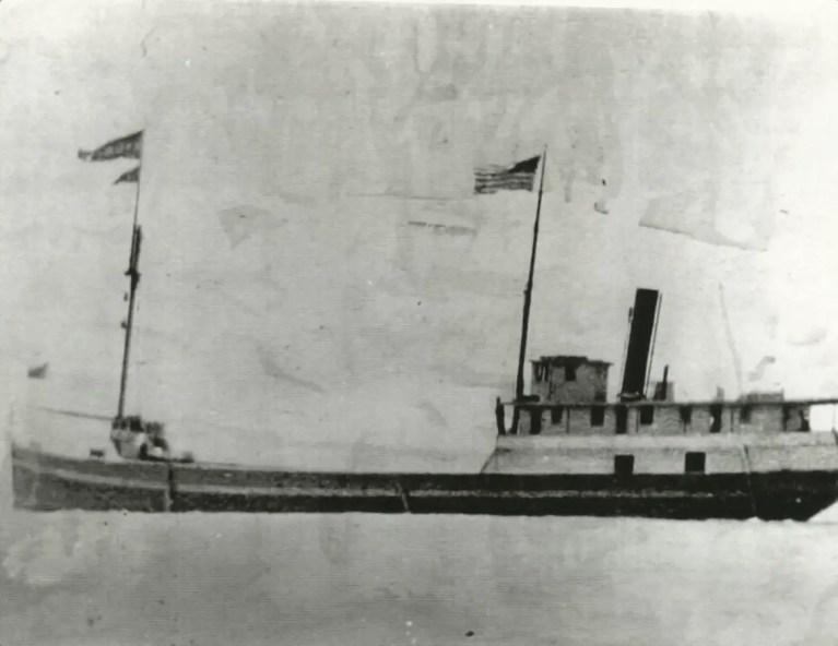 Mary Pringle - Saved Michigan shipwreck Osceola