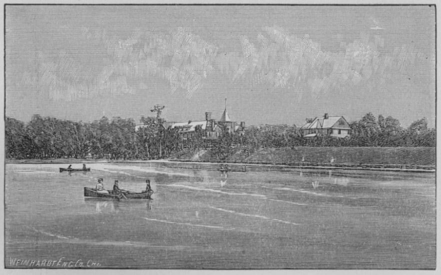Bay Port Shore Line in Late 1800s
