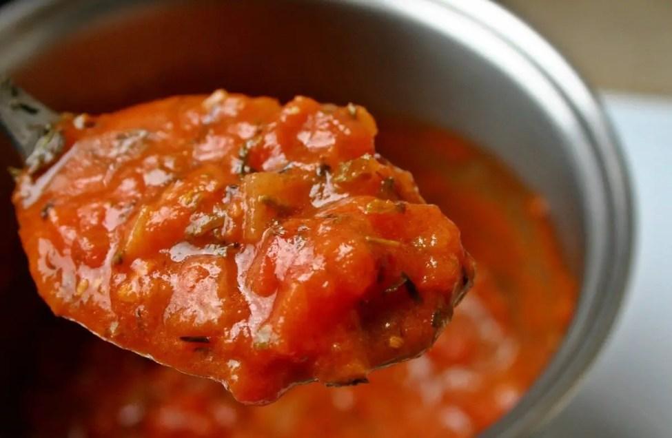 Tomato Sauce - beef jerky marinade recipe