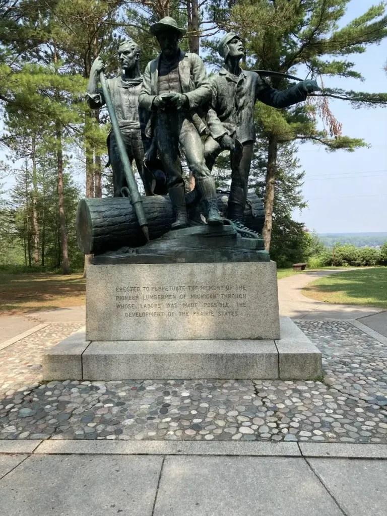 Lumberman's Monument