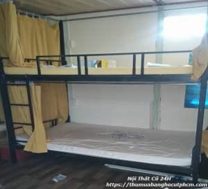 Giường tầng sắt thanh lý