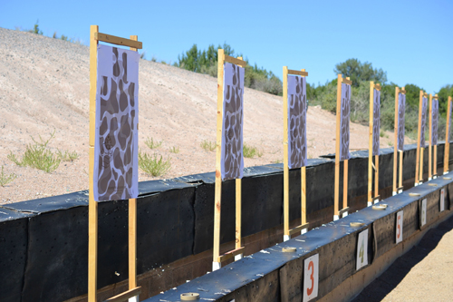 paper-targets-at-a-gun-range-for-target-practice