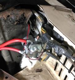 power problem no power vintage thunderbird club international1961 ford starter solenoid wiring 7 [ 2302 x 2365 Pixel ]