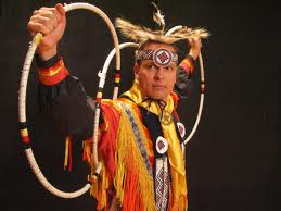 Hoop Dancer Michael D. Taylor (Choctaw)