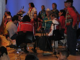 Heyna Second Sons Drum Circle at NMAI