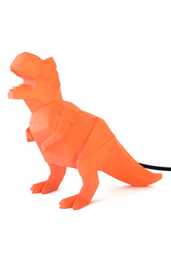 House of Disaster Orange Dinosaur Lamp