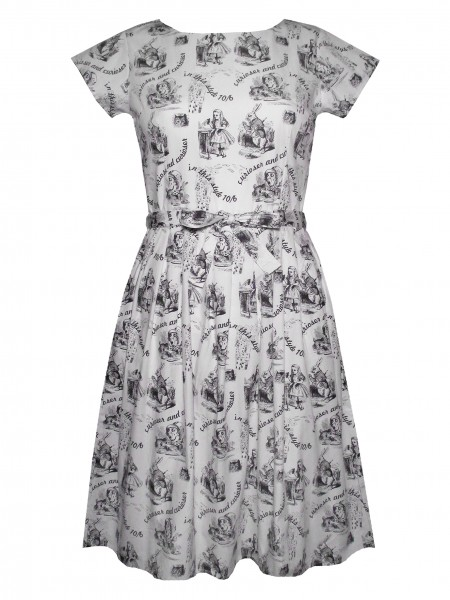 Run and Fly Alice in Wonderland Dress