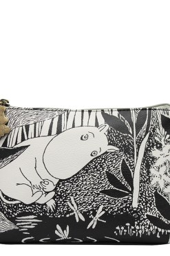 House of Disaster Black Moomin Midnight Cosmetic Bag