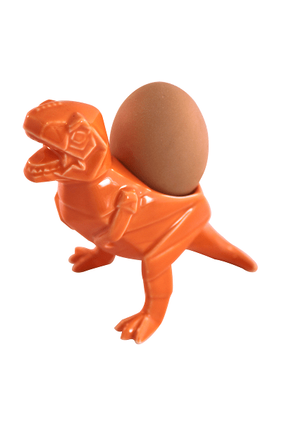 House of Disaster Orange Trex Dinosaur Egg Cup