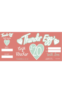 Thunder Egg 20 Pound Gift Voucher
