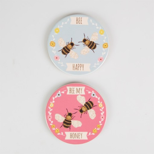 Sass and Belle Bee Coasters