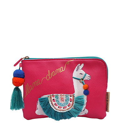 House of Disaster - Candy Pop Llama Zip Pouch