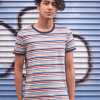 Run & Fly - Multi-coloured Stripe Tee