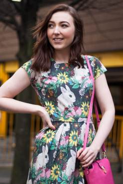 Run & Fly - Floral Bunny Dress