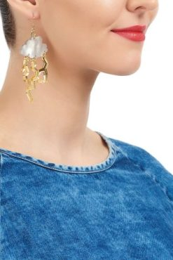 Tatty Devine - Thunderstorm Cloud Earrings