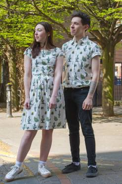 Run & Fly - Cactus Shirt & Run & Fly - Cactus Dress