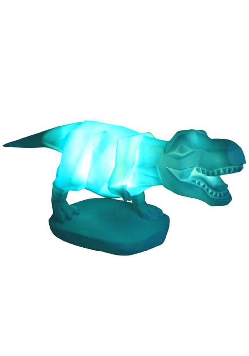 House of Disaster - Green T-Rex Dinosaur Lamp