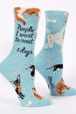 Blue Q - People I Want To Meet: Dogs Socks