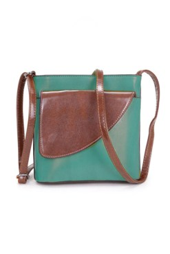 Thunder Egg - Teal Square Mini Bag