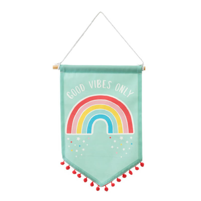 Sass & Belle - Chasing Rainbows Banner Flag