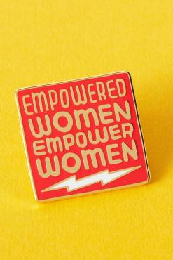 Punky Pins - Empowered Women Empower Women Enamel Pin