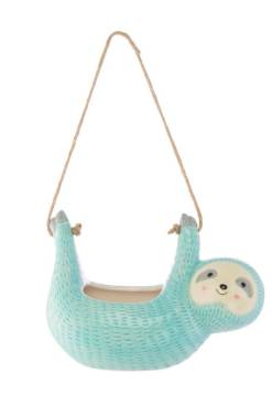 Sass & Belle - Seymour Sloth Hanging Planter