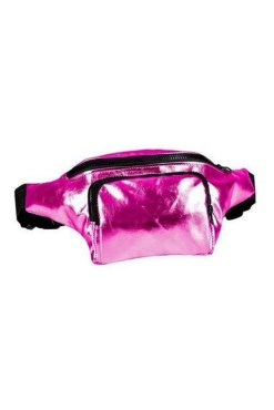Thunder Egg - Metallic Pink Bumbag
