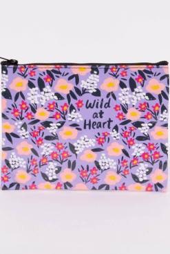 Blue Q - Wild At Heart Zipper Pouch