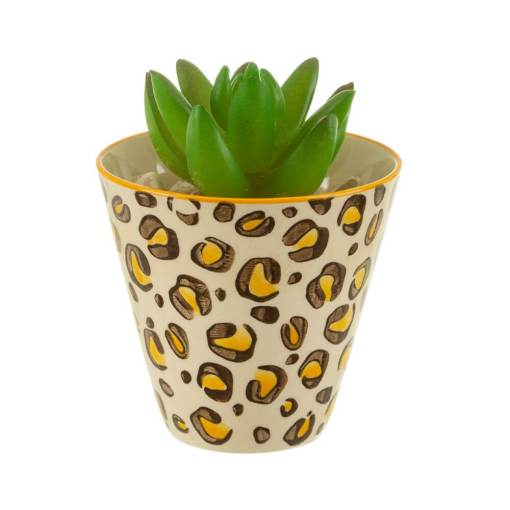 Sass & Belle - Mini Leopard Print Planter