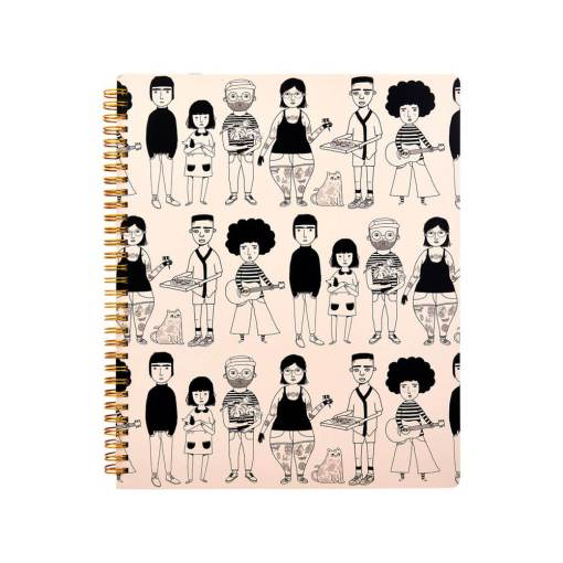 Sass & Belle - My Kind of People A4 Notebook