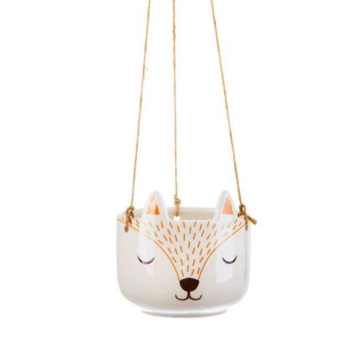 Sass & Belle - Woodland Fox Hanging Planter