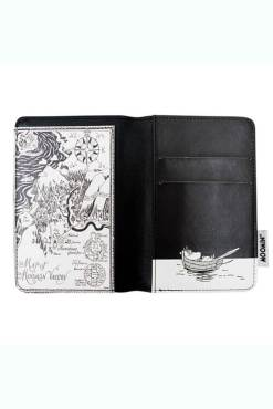 House of Disaster - Moomin Midwinter Passport Holder