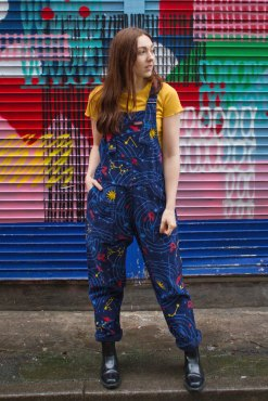 Run & Fly - Unisex Solar System Dungarees