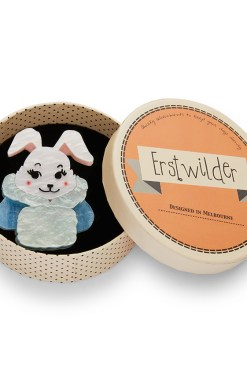 Erstwilder - Snuggly Buffy Bunny Brooch