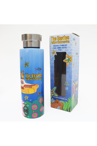 House of Disaster -The Beatles Yellow Submarine Flask