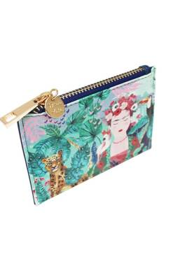 House of Disaster – Frida Kahlo Tropical Zip Purse