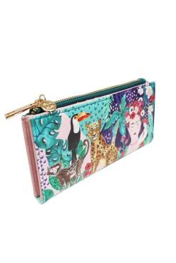 House of Disaster – Frida Kahlo Tropical Wallet