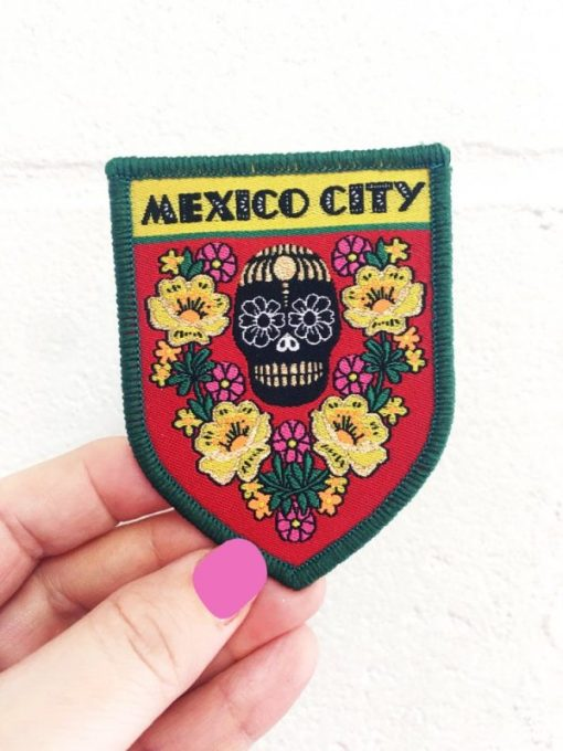 Rosie Wonders - Mexico City Iron On Patch